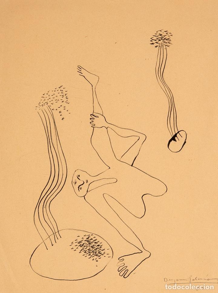 Arte: Benjamín Palencia. Surrealismo. Escuela de Vallecas. 1930. 35x25 cm. Miro. - Foto 2 - 127977912