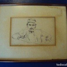 Arte: (XJ-180721)DIBUJO DE ENRIC CLARASÓ DAUDÍ (SANT FELIU DEL RACÓ, 1857 - BARCELONA, 1941). Lote 128230739
