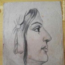 Arte: DIBUJO A LAPIZ PINTOR VELASCO. Lote 128728727