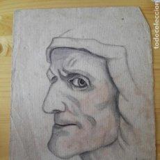 Arte: DIBUJO LAPIZ PINTOR VELASCO DE ANCIANA. Lote 128730302