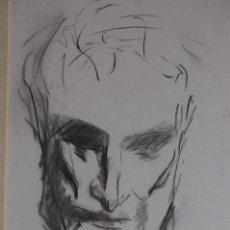 Arte: GÓMEZ NAVAS (MÁLAGA 1931) DIBUJO A LÁPÍZ Y CARBONCILLO DE 23X33 ENMARCADO EN31X41.1995.BUEN ESTADO.. Lote 128779683
