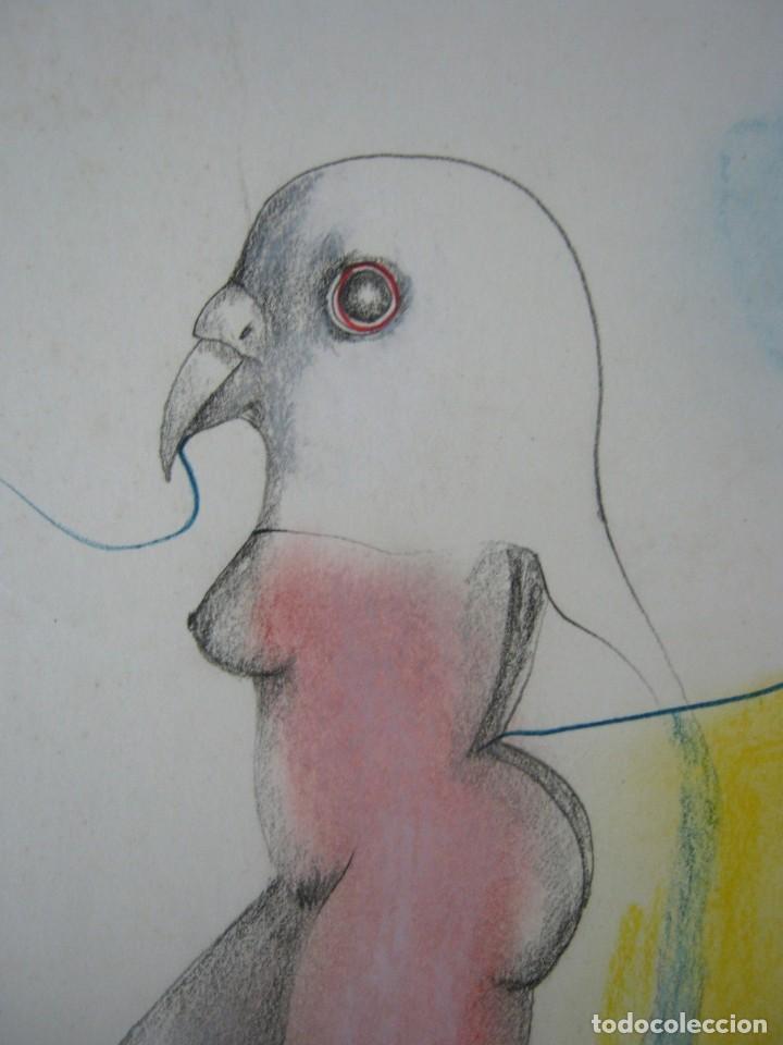Dibujo Lápiz Color Manolo Manuel Coronado 42 Kaufen
