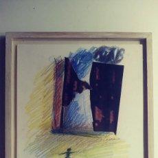 Arte: COLLAGE BALLERINE DE JEAN FLÉACA 1994. Lote 129020391