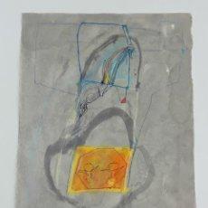 Arte: ABSTRACCIÓN. TÉCNICA MIXTA SOBRE PAPEL. ALBERT GONZALO CARBÓ. ESPAÑA. 1999.. Lote 129492779