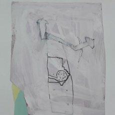 Arte: ABSTRACCIÓN. TÉCNICA MIXTA SOBRE PAPEL. ALBERT GONZALO CARBÓ. ESPAÑA. 1997.. Lote 129507175