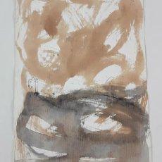 Arte: ABSTRACCIÓN. TÉCNICA MIXTA SOBRE PAPEL. ALBERT GONZALO CARBÓ. ESPAÑA. 2000.. Lote 129508923