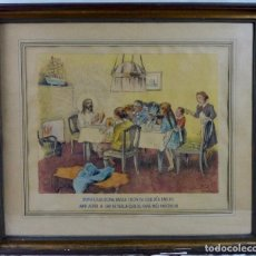 Arte: DIBUJO ORIGINAL DE JUNCEDA, COLOREADO. FIRMADO - 1942. Lote 129523867