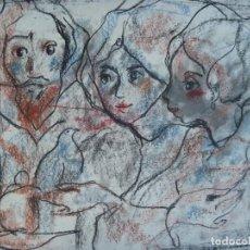 Arte: TORNER SEMIR JESUS MAESTRO ESPÍRITU SANTO COMUNIÓN MARÍA MAGDALENA MARÍA MADRE DE DIOS DISCÍPULAS. Lote 129994607