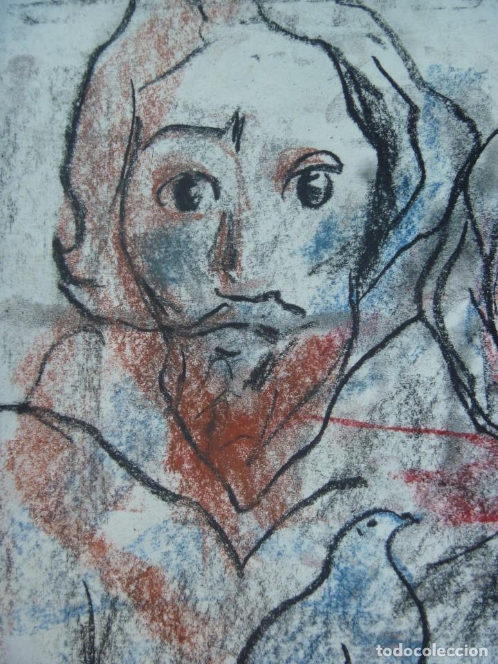 Arte: TORNER SEMIR JESUS MAESTRO ESPÍRITU SANTO COMUNIÓN MARÍA MAGDALENA MARÍA MADRE DE DIOS DISCÍPULAS - Foto 2 - 129994607