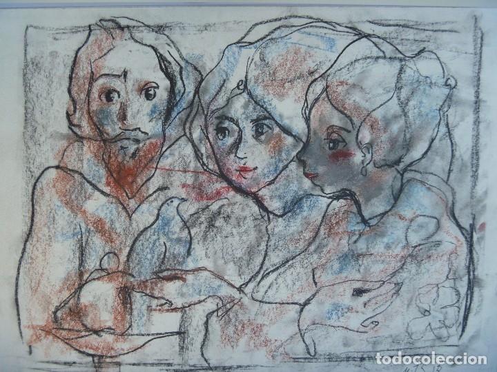 Arte: TORNER SEMIR JESUS MAESTRO ESPÍRITU SANTO COMUNIÓN MARÍA MAGDALENA MARÍA MADRE DE DIOS DISCÍPULAS - Foto 4 - 129994607
