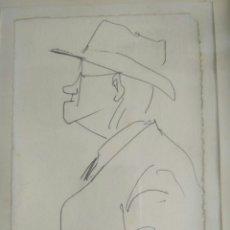 Arte: DIBUJO DE MANOLO TORRES, MARÍN, PONTEVEDRA, GALICIA.. Lote 130175370