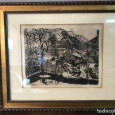 Arte: DIBUJO FIRMADO 1918 . Lote 130497898