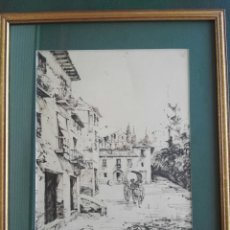 Arte: PRECIOSO DIBUJO FIRMA ILEGIBLE PARA MI. Lote 130519872