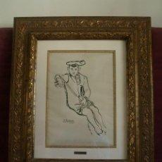 Arte: BENJAMÍN PALENCIA - NIÑO CON BOINA. Lote 130612874