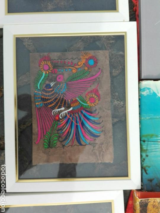 CUADRO DIBUJOS COLORIDOS..HECHO.A MANO PAPEL Y DIBUJO. (Arte - Dibujos - Contemporáneos siglo XX)