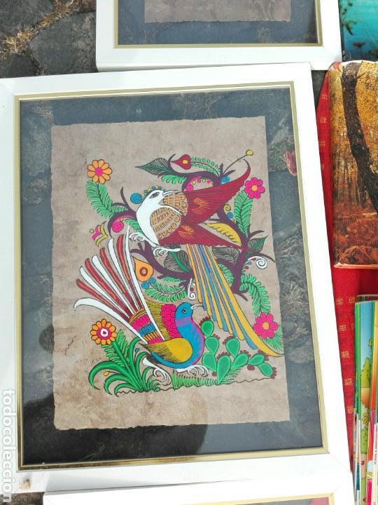 CUADRO DIBUJO.COLORIDO..HECHO A MANO PAPEL Y DIBUJO. (Arte - Dibujos - Contemporáneos siglo XX)