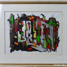 Arte: DIBUJO ABSTRACTO - AÑOS 70. Lote 130685374