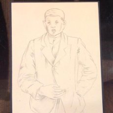 Arte: B. P. RETRATO DE NIÑO. Lote 130958548