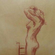 Arte: ROSA MASSAGUER: DIBUJO AL CARBONCILLO. Lote 131098072