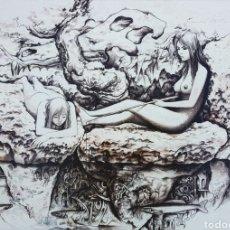 Arte: LORENZO GOÑI, MAGNIFICA OBRA ORIGINAL FIRMADA.. Lote 131117953