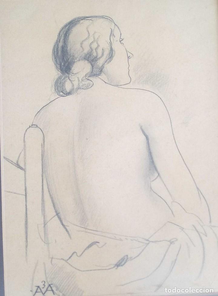 DIBUJO DE ANTONI VILA ARRUFAT DEL AÑO 1932 (Arte - Dibujos - Contemporáneos siglo XX)