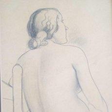 Arte: DIBUJO DE ANTONI VILA ARRUFAT DEL AÑO 1932. Lote 131146040