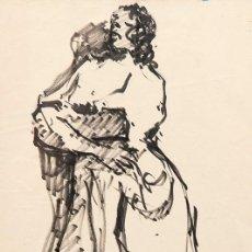 Arte: TARRASSO CASIMIR MARTINEZ - DIBUJO. Lote 132636214