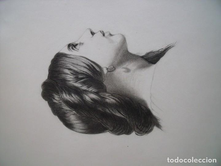 Arte: MARIA ROA.-ALBUM.-DIBUJOS A LAPIZ.-ALBUM CON 20 DIBUJOS. - Foto 2 - 132850810