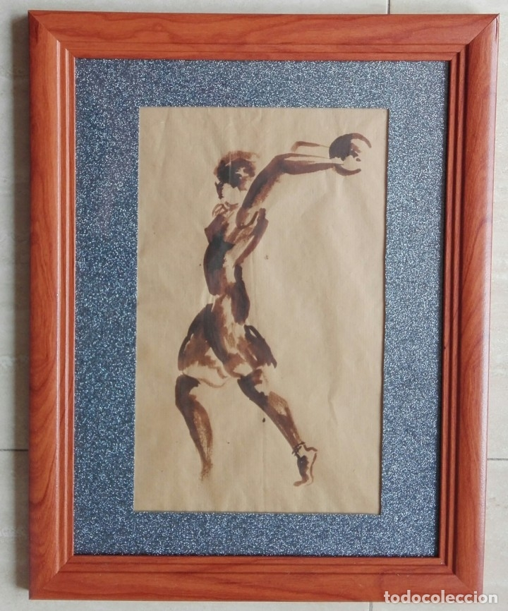 ESCUELA CATALANA - DIBUJO MITAD DEL SIGLO XX (Arte - Dibujos - Contemporáneos siglo XX)