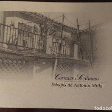 Kunst - Carpeta con 12 reproducciones de dibujos de corrales sevillanos - 133492714