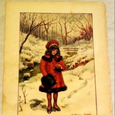Arte: ANTIGUA ILUSTRACIÓN DE KATHELEEN LUCAS - EXTRAÍDA DE LIBRO 1939 - 25X18CM. Lote 133840690