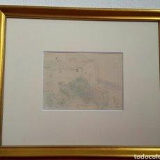 Arte: DIBUJO ORIGINAL DE JOAQUÍN MIR I TRINXET. Lote 134227665