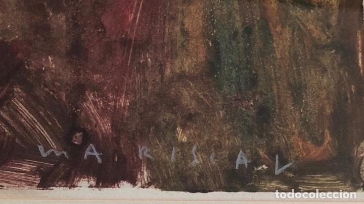 Arte: Mariscal - Técnica Mixta sobre Papel - Firmada - Foto 2 - 127657455