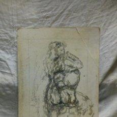 Arte: MUJER DE LOS 60 PENSATIVA(GRAN CALIDAD). Lote 134453923