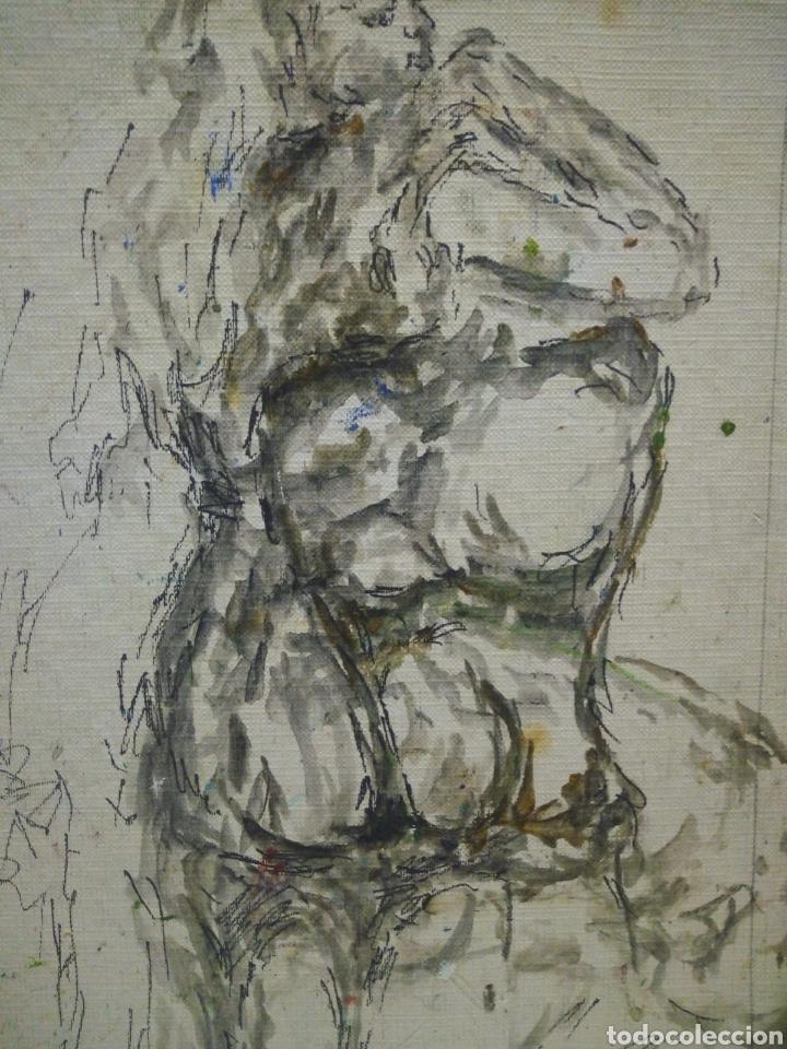 Arte: Mujer de los 60 pensativa(gran calidad) - Foto 3 - 134453923
