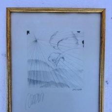Arte: BOCETO DE MIGUEL ANGEL ANADÓN. Lote 135213522