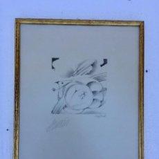 Arte: BOCETO DE MIGUEL ANGEL ANADÓN. Lote 135214766