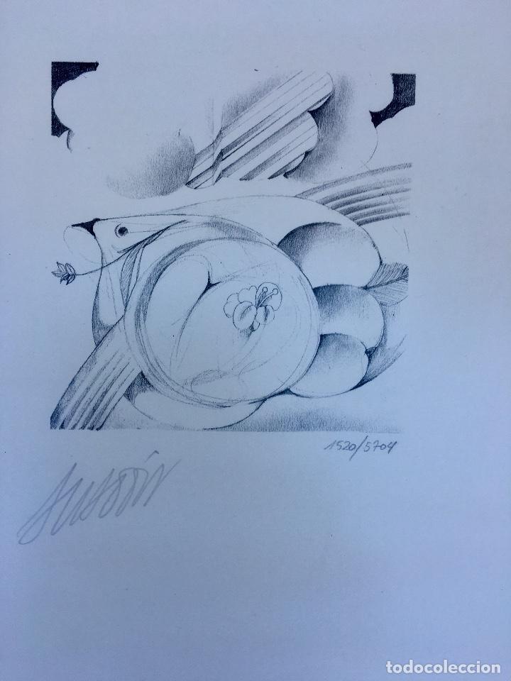 Arte: BOCETO DE MIGUEL ANGEL ANADÓN - Foto 2 - 135214766