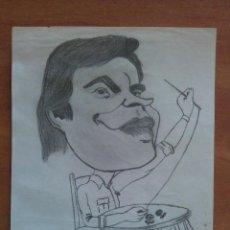 Arte: DIBUJO ORIGINAL DE FELIPE GONZALEZ. Lote 135265942