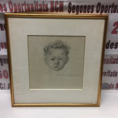 Arte: RETRATO CARLOS BECQUER DOMINGEZ. Lote 135399459