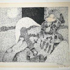 Arte: DIBUJO ORIGINAL TINTA CHINA FIRMADO 1978...FIRMA ILEGIBLE POR MI--MONCA....?. Lote 135817582