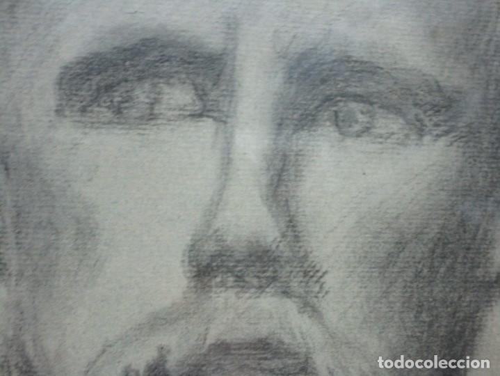 Arte: ÀNTIGUO DIBUJO RETRATO ORIGINAL FIRMADO M . CRUMP ESTADOS UNIDOS BOSTON SIGLO XIX - Foto 11 - 135894142