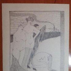 Arte: ANÓNIMO. DESNUDOS FEMENINOS.. Lote 136088430