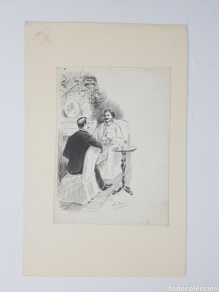 JOAQUIM XAUDARÓ ECHAUZ (Arte - Dibujos - Contemporáneos siglo XX)