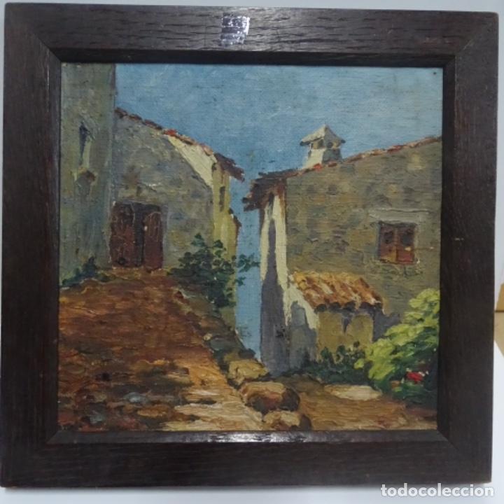 Arte: Óleo sobre tabla anonimo.la pinacoteca.buen trazo.escuela catalana. - Foto 2 - 137254594