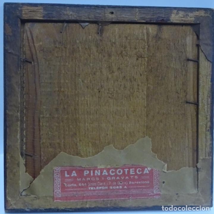 Arte: Óleo sobre tabla anonimo.la pinacoteca.buen trazo.escuela catalana. - Foto 11 - 137254594