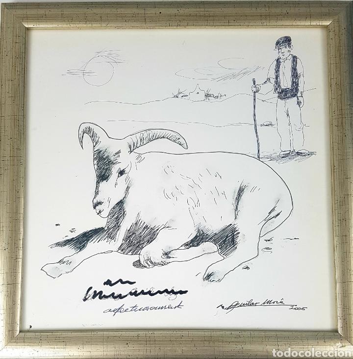 RAMÓN AGUILAR MORE (Arte - Dibujos - Contemporáneos siglo XX)