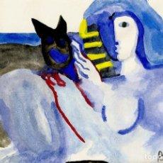 Arte: JUAN G. RIPOLLÉS   DONA I GOS (1988). Lote 137338958