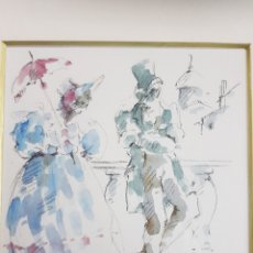 Arte: ESCENA COSTUMBRISTA POR ANDREU RAGINEL FERRER. Lote 137481365