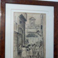 Arte: GARCÍA ESTRAGUES, FRANCESC. DIBUJANTE Y PINTOR NACIDO EN BARCELONA EN 1914. Lote 137576724